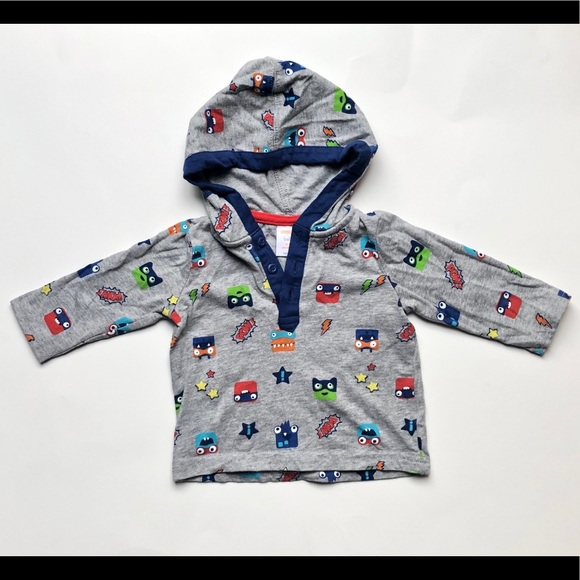 Gymboree Other - Baby Gymboree Super Monsters pullover Hoodie